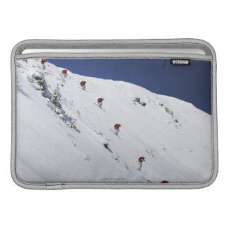 Male Skier MacBook Sleeve