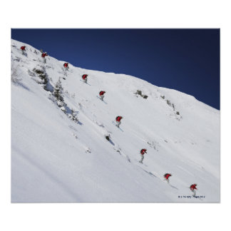 Male Skier Poster