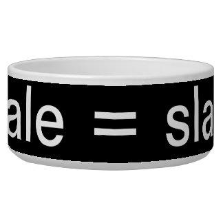 male = slave pet bowl