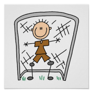 Male Soccer Goal Keeper T-shirts and Gifts Poster