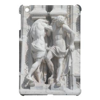 Male Statues on Milano Church iPad Cover