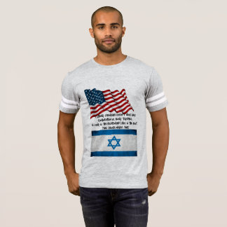 Male T-Shirt TRUE FRIENDSHIP: America & Israel