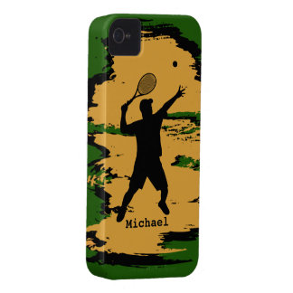 Male Tennis Player iPhone 4 Case