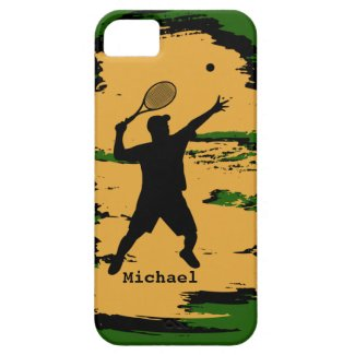 Male Tennis Player iPhone 5 Case