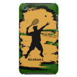 Male Tennis Player iPod  Case iPod Touch Case-Mate Case