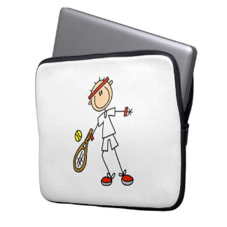 Male Tennis Player Laptop Sleeve