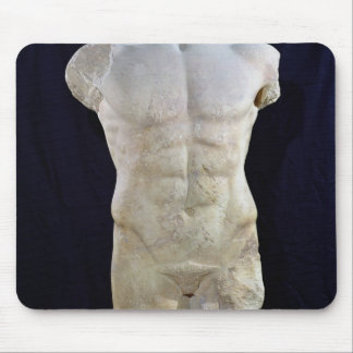 Male torso from Miletus, c.480 BC Mouse Pad