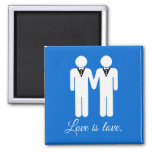 MALE WEDDING LOVE -.png Fridge Magnet