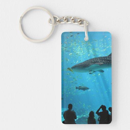 Male Whale Shark Acrylic Keychain