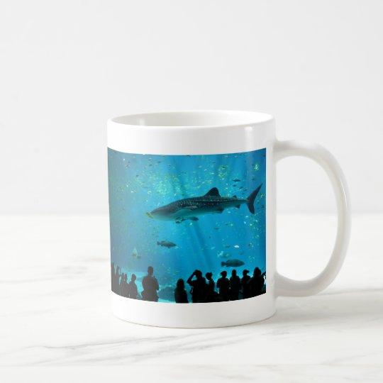 Male Whale Shark at Georgia Aquarium Coffee Mug