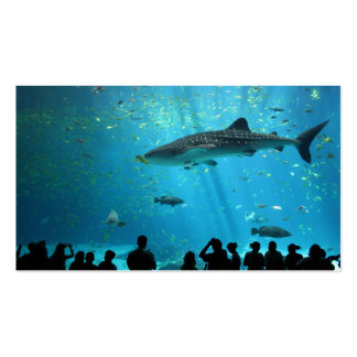 Male Whale Shark Business Card