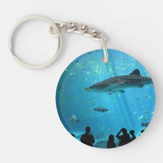Male Whale Shark Acrylic Keychains
