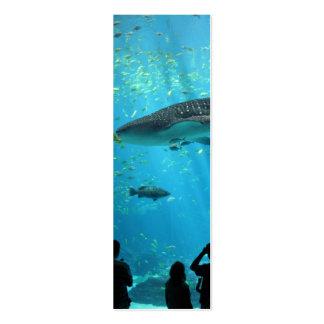 Male Whale Shark Mini Business Card