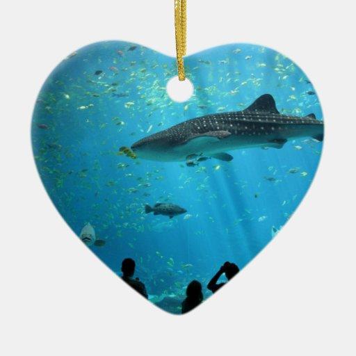 Male Whale Shark Ornaments