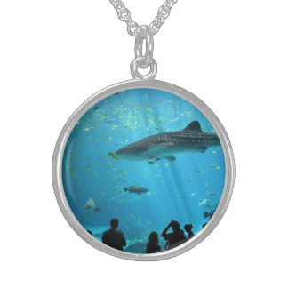 Male Whale Shark Sterling Silver Necklace