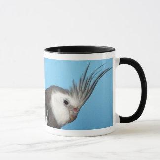 Male Whiteface Cockatiel Mug