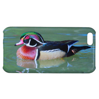 Male Wood Duck on pond iPhone 5C Case