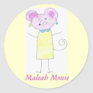 maleah Mouse Sticker
