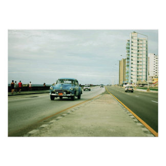 """Malecón (1) 28"""" x 20"""" Poster (Glossy)"""