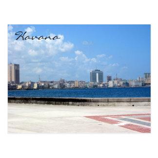 malecon de La Habana del la Postal