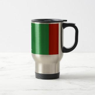 Maledives Flag 15 Oz Stainless Steel Travel Mug