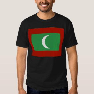 Maledives Flag Tee Shirts