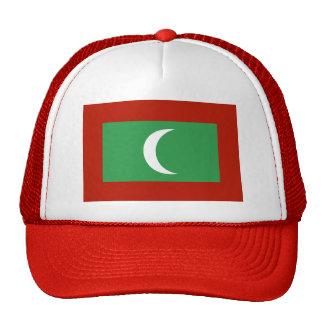 Maledives Flag Trucker Hat