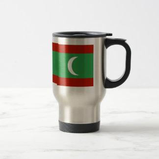 Maledives High quality Flag 15 Oz Stainless Steel Travel Mug