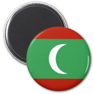 Maledives High quality Flag 2 Inch Round Magnet