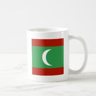 Maledives High quality Flag Classic White Coffee Mug