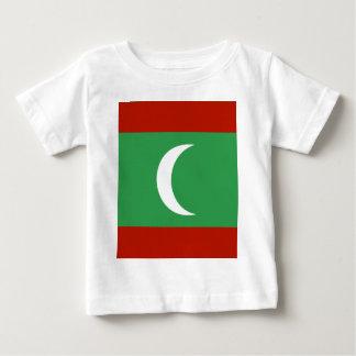 Maledives High quality Flag Infant T-shirt