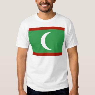 Maledives High quality Flag T-shirt