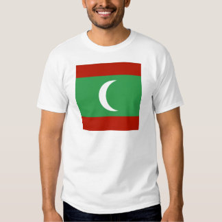 Maledives High quality Flag T Shirt