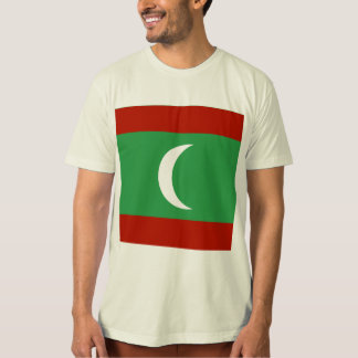 Maledives High quality Flag Tee Shirts
