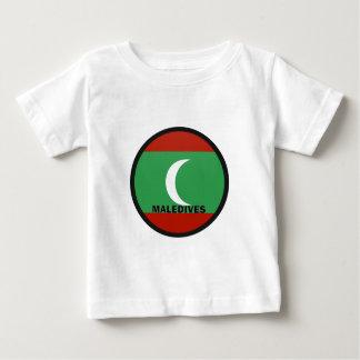 Maledives Roundel quality Flag T Shirt