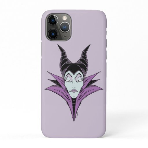Maleficent | A Dark Face iPhone 11 Pro Case