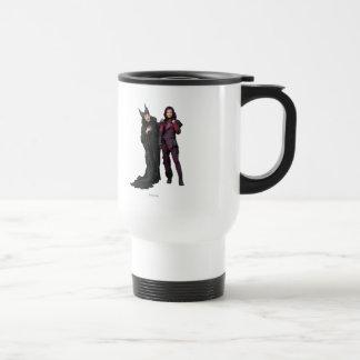 Maleficent and Mal Travel Mug