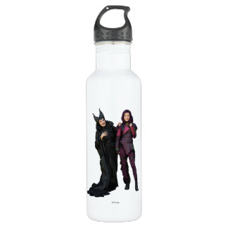 Maleficent and Mal Water Bottle