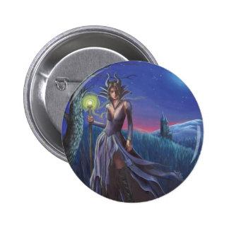 Maleficent Button Sleeping Beauty Button