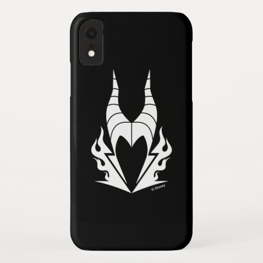 Maleficent Logo iPhone XR Case