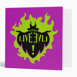 Avery Signature 1' Binder with Maleficent: Long Live Evil design