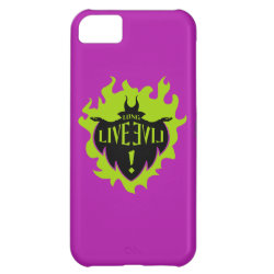 Case-Mate Barely There iPhone 5C Case with Maleficent: Long Live Evil design