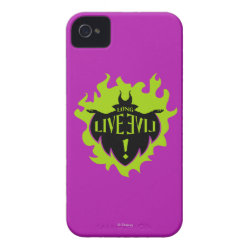 Case-Mate iPhone 4 Barely There Universal Case with Maleficent: Long Live Evil design