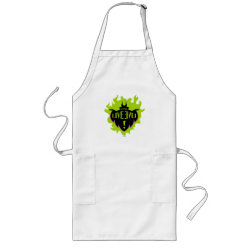Long Apron with Maleficent: Long Live Evil design