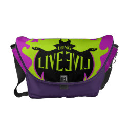 Maleficent: Long Live Evil Rickshaw Medium Zero Messenger Bag