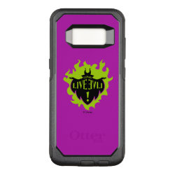 OtterBox Commuter Samsung Galaxy S8 Case with Maleficent: Long Live Evil design