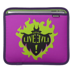 iPad Sleeve with Maleficent: Long Live Evil design
