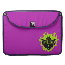 Macbook Pro 15' Flap Sleeve with Maleficent: Long Live Evil design