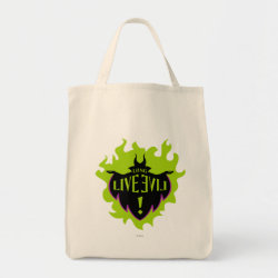 Grocery Tote with Maleficent: Long Live Evil design