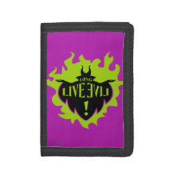 Maleficent: Long Live Evil TriFold Nylon Wallet